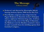 the message a history of islam