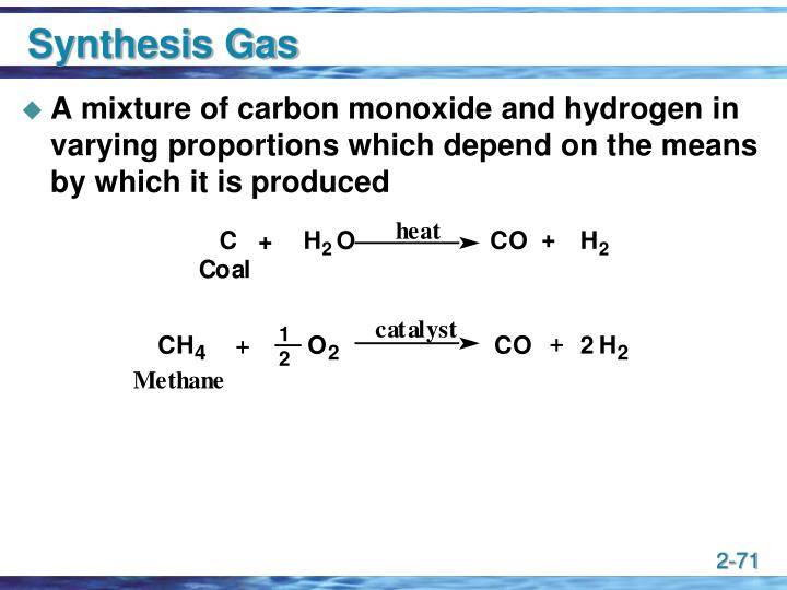 Synthesis Gas