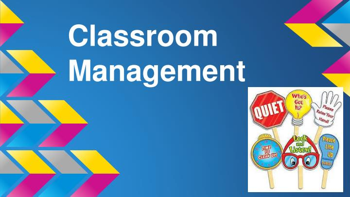 Powerpoint presentation on classroom management