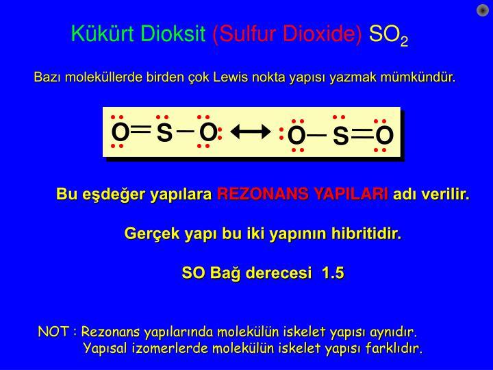 K k rt dioksit sulfur dioxide so 2
