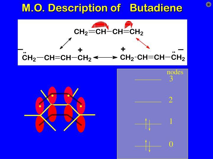 M.O. Description of   Butadiene