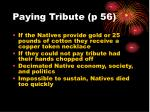 paying tribute p 56