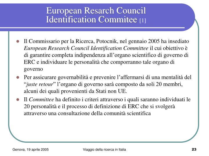 European Resarch Council