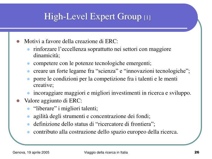 High-Level Expert Group