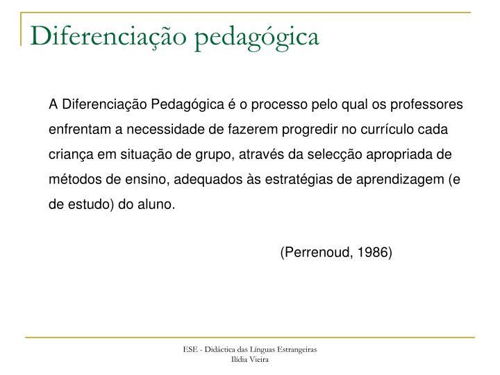 Diferenciação pedagógica