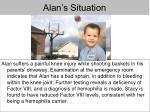 alan s situation