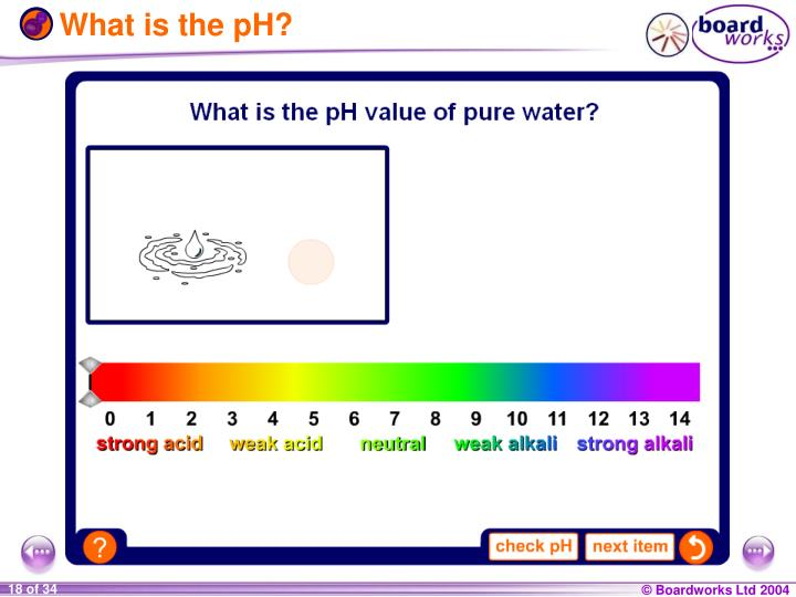 What is the pH?