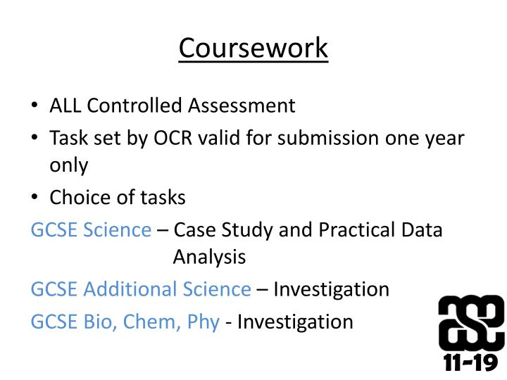 gcse coursework science investigation Let us define the gcse science coursework and of the gcse science courseworks must be from different sources as all your investigation should be based on.