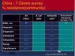 china 7 centre survey resistance community
