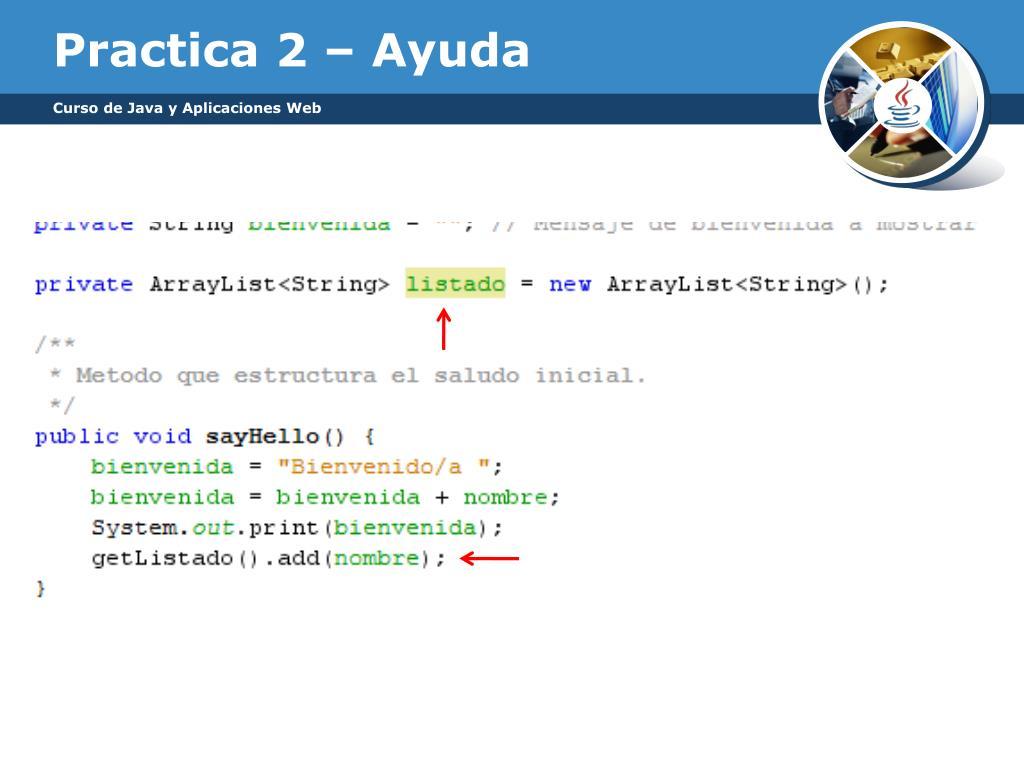 Ppt Curso De Java Y Aplicaciones Web Powerpoint