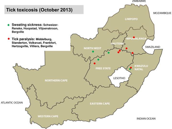 Tick toxicosis (October 2013)