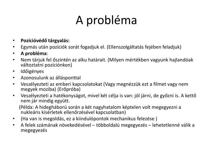 A probl ma1