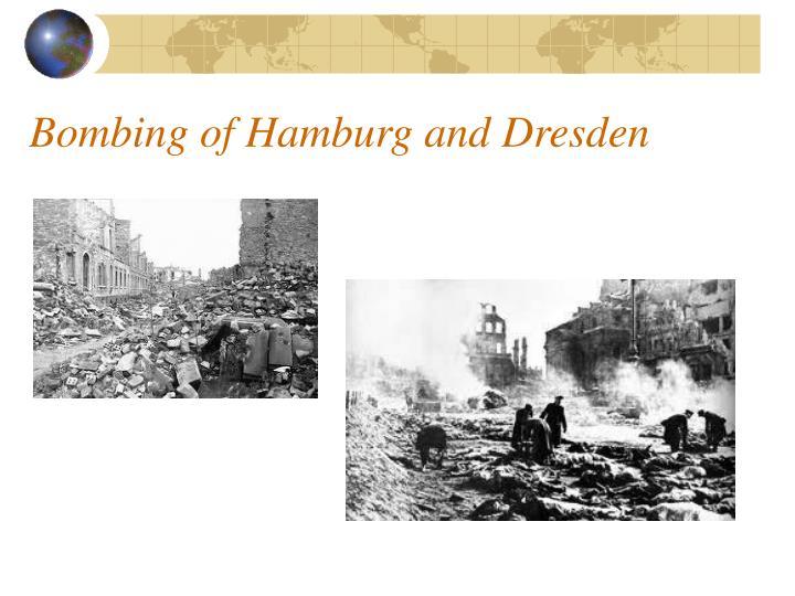 Bombing of Hamburg and Dresden
