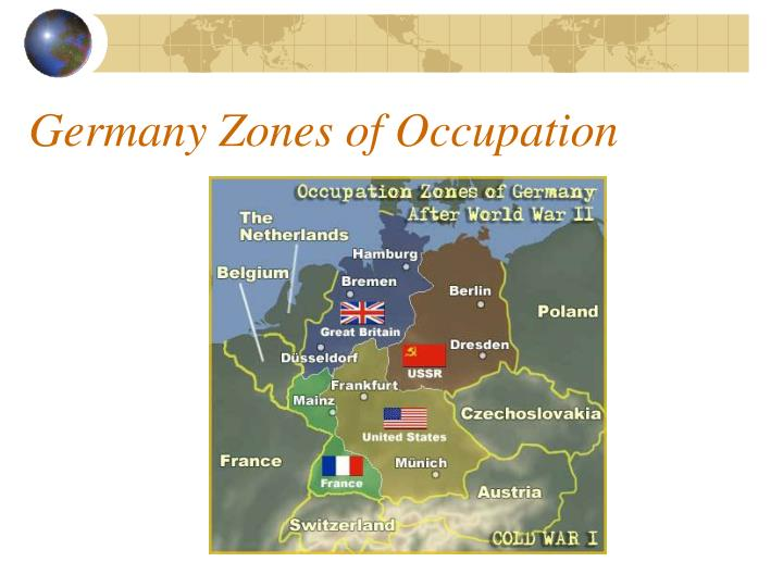 Germany Zones of Occupation