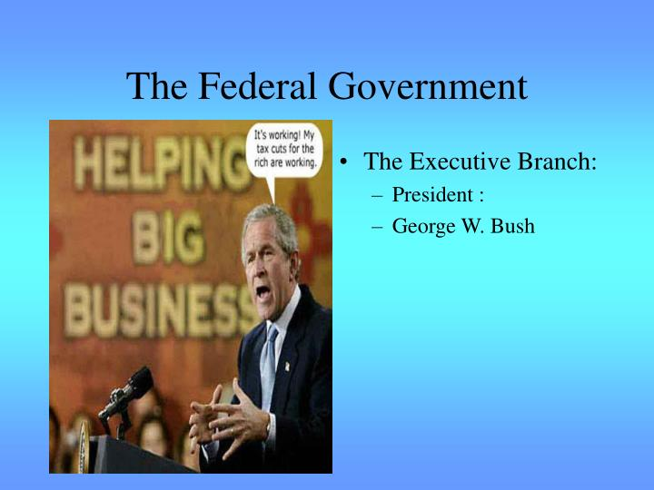 the federal government n.
