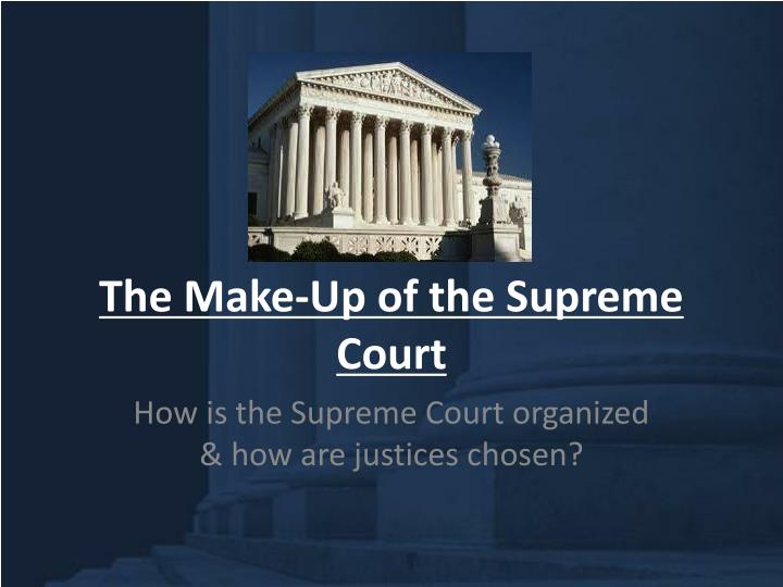 a discussion on the power of the supreme court