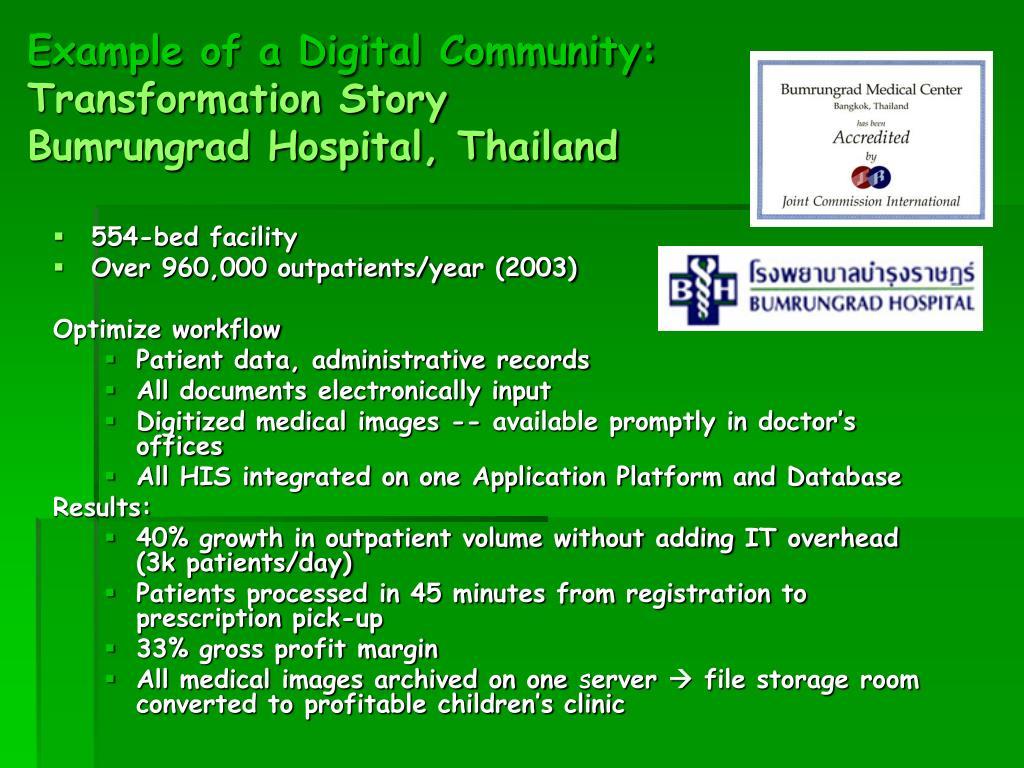 PPT - THE DEVELOPMENT OF DIGITAL SMART HOSPITAL USING RFID