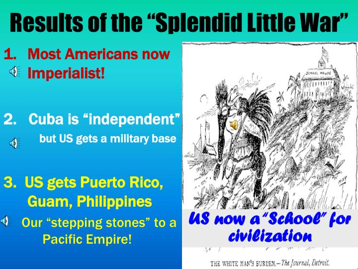 "Results of the ""Splendid Little War"""