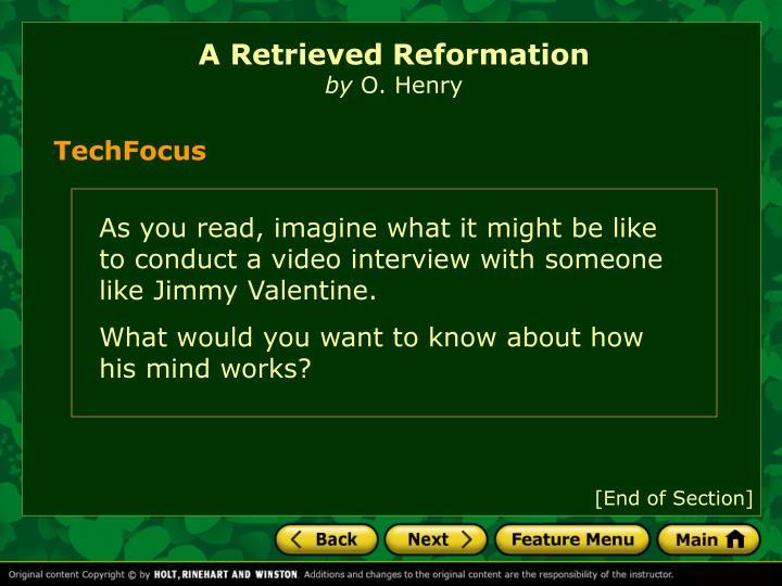 a retrieved reformation o henry