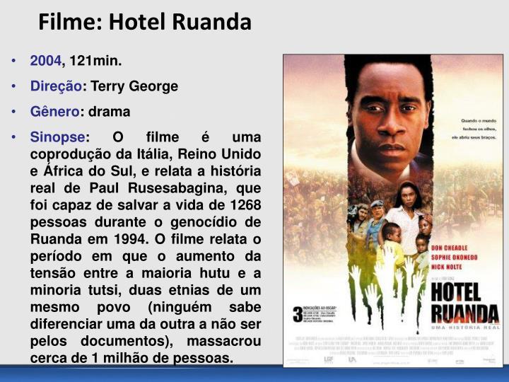 Filme: Hotel Ruanda