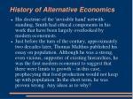 history of alternative economics4