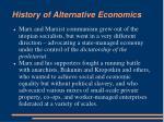 history of alternative economics7