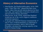 history of alternative economics8