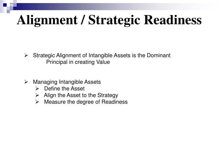 Alignment / Strategic Readiness