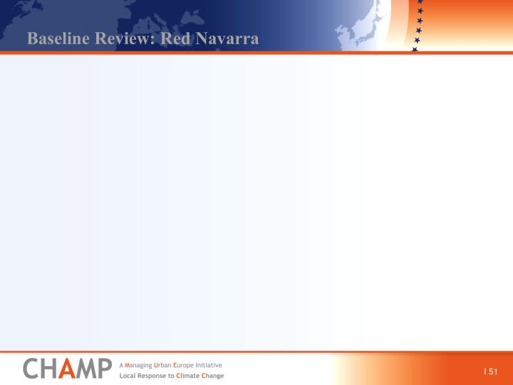 Baseline Review: Red Navarra