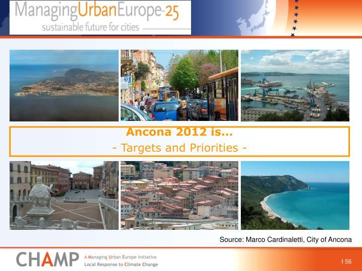 Ancona 2012 is...
