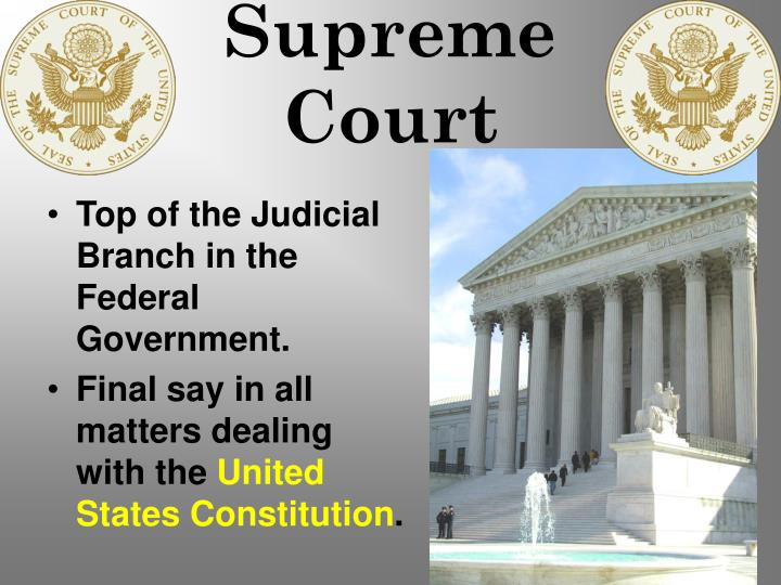 united states constitution and supreme court The constitution of the united states of america you may enjoy reading through the constitution and a few supreme court decisions and then considering.