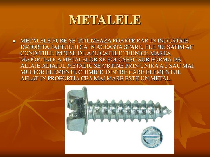 Metalele