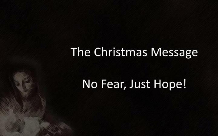 The Christmas Message