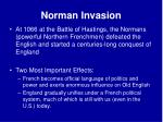 norman invasion