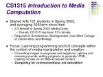 cs1315 introduction to media computation