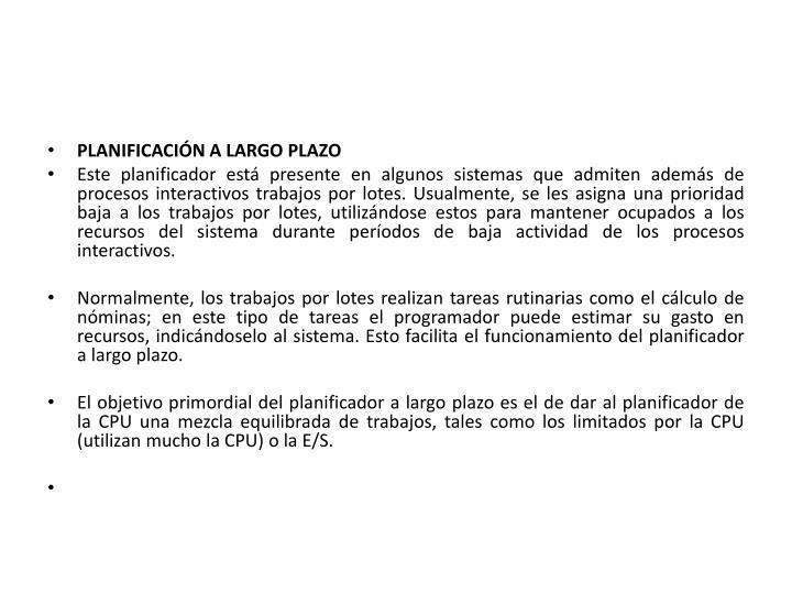 PPT - 2.5 Niveles, objetivos y criterios de planificación ...