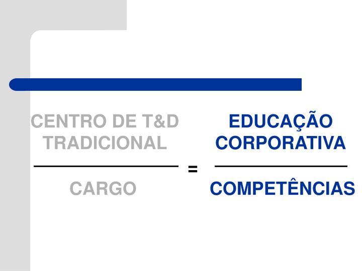 CENTRO DE T&D