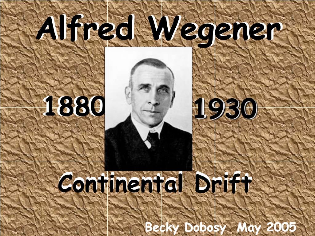 where did alfred wegener live