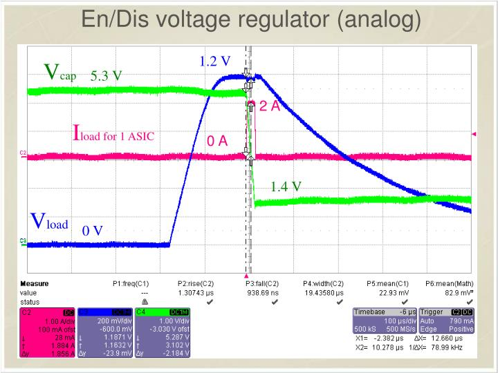 En/Dis voltage regulator (analog)