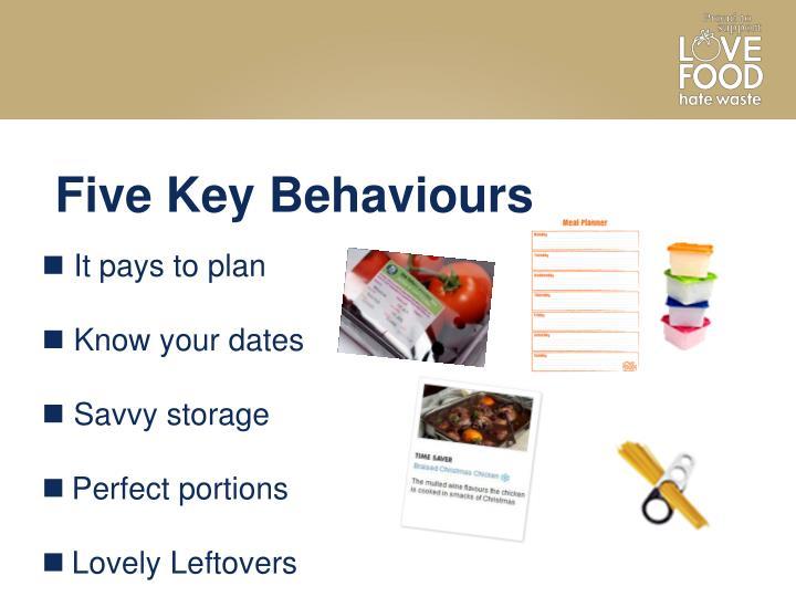 Five Key Behaviours