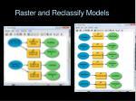 raster and reclassify models