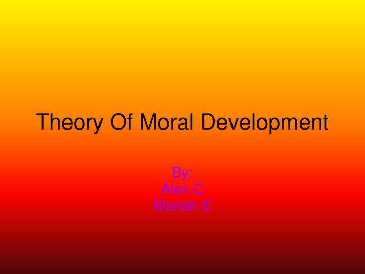 theory of amorality Morgenthau's utilitarian version of realism may lend truth to claims of amorality and bellicosity among other strands or on problems with the theory as a.