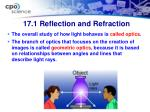 17 1 reflection and refraction1