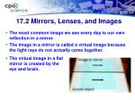 17 2 mirrors lenses and images3
