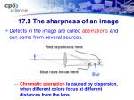 17 3 the sharpness of an image