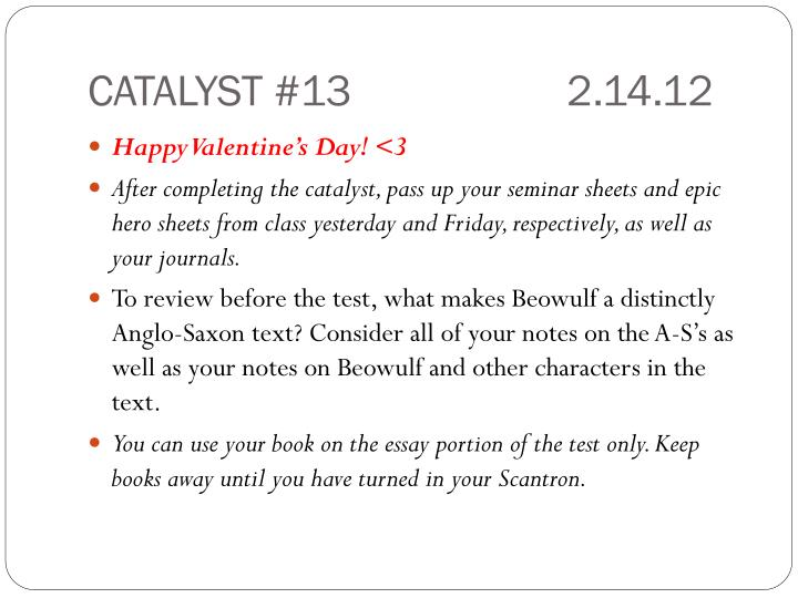 CATALYST #132.14.12