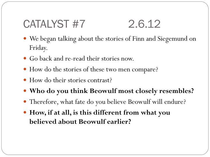 CATALYST #72.6.12