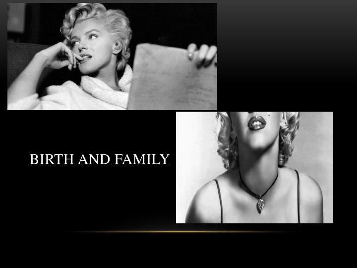 Birth and family
