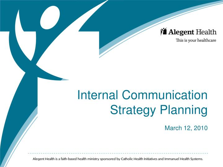 internal communication strategy planning march 12 2010 n.