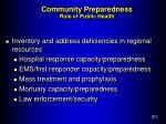 community preparedness role of public health3